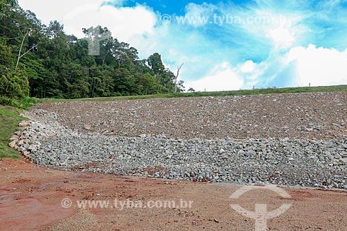Barragem para depósito de rejeito da Mina do Pitinga da Mineração Taboca  - Presidente Figueiredo - Amazonas (AM) - Brasil