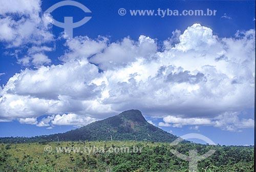 Vista geral do Monte Pascoal  - Itamaraju - Bahia (BA) - Brasil