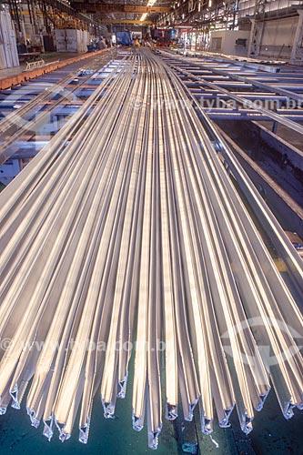 Alumínio processado pela Alcoa - década de 2000  - Itapissuma - Pernambuco (PE) - Brasil