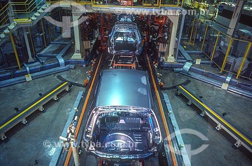 Interior de fábrica da montadora Ford Motor Company  - Camaçari - Bahia (BA) - Brasil