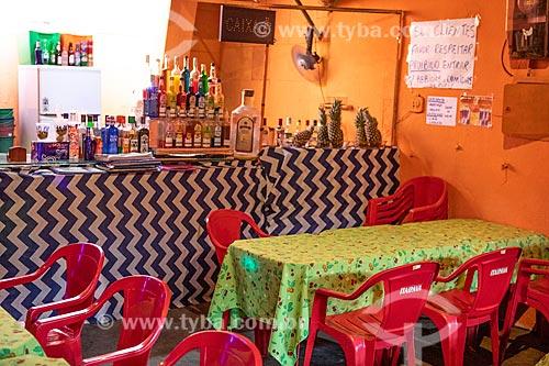 Interior do Bar Point dos Amigos no Centro Luiz Gonzaga de Tradições Nordestinas  - Rio de Janeiro - Rio de Janeiro (RJ) - Brasil