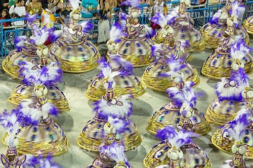 Desfile do Grêmio Recreativo Escola de Samba Unidos do Viradouro - Ala das Baianas - Enredo 2019 - Viraviradouro!  - Rio de Janeiro - Rio de Janeiro (RJ) - Brasil