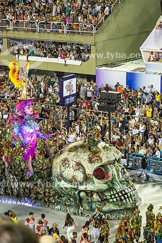 Desfile do Grêmio Recreativo Escola de Samba Unidos do Viradouro - Carro alegórico - Enredo 2019 - Viraviradouro!  - Rio de Janeiro - Rio de Janeiro (RJ) - Brasil