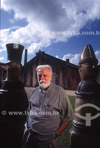 Escultor Francisco Brennand - década de 90  - Recife - Pernambuco (PE) - Brasil