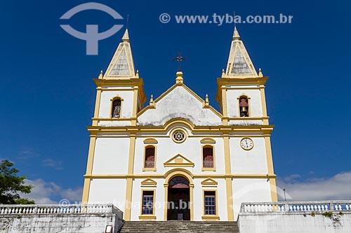 Fachada da Igreja Matriz de Santa Luzia (1744)  - Santa Luzia - Minas Gerais (MG) - Brasil