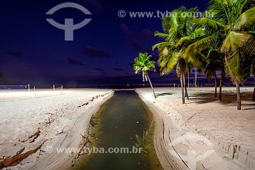 Língua negra na Praia do Leme  - Rio de Janeiro - Rio de Janeiro (RJ) - Brasil