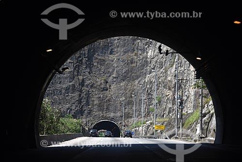 Vista do Túnel Engenheiro Enaldo Cravo Peixoto na Linha Amarela com o Túnel Geólogo Enzo Totis ao fundo  - Rio de Janeiro - Rio de Janeiro (RJ) - Brasil