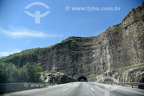 Vista do Túnel Geólogo Enzo Totis na Linha Amarela  - Rio de Janeiro - Rio de Janeiro (RJ) - Brasil