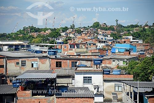 Vista do bairro do Caju a partir da Linha Vermelha  - Rio de Janeiro - Rio de Janeiro (RJ) - Brasil