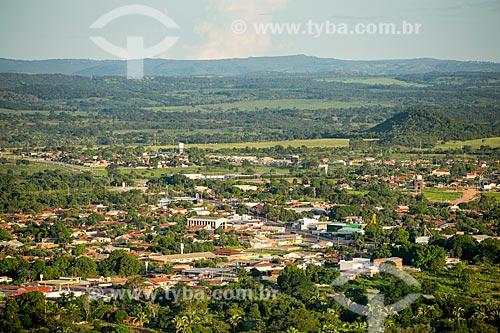 Vista geral da cidade de Piranhas  - Piranhas - Goiás (GO) - Brasil