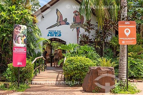 Entrada do Parque das Aves  - Foz do Iguaçu - Paraná (PR) - Brasil