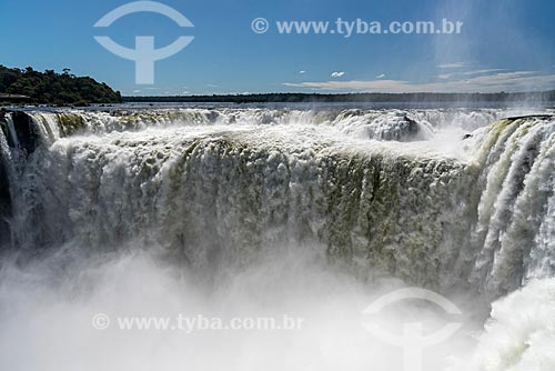Vista da Garganta do Diabo no Parque Nacional do Iguaçu  - Puerto Iguazú - Província de Misiones - Argentina
