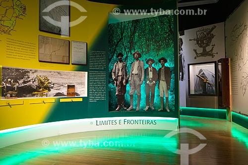 Exposição no interior do Museu de Astronomia e Ciências Afins (MAST) no Observatório Nacional  - Rio de Janeiro - Rio de Janeiro (RJ) - Brasil