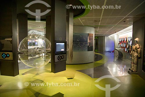 Interior da Fundação Planetário da Cidade do Rio de Janeiro  - Rio de Janeiro - Rio de Janeiro (RJ) - Brasil