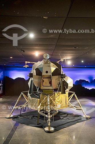 Réplica de sonda lunar em exibição na Fundação Planetário da Cidade do Rio de Janeiro  - Rio de Janeiro - Rio de Janeiro (RJ) - Brasil
