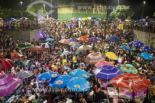 Desfile do bloco de carnaval de rua minha luz é de led na Praça Marechal Âncora  - Rio de Janeiro - Rio de Janeiro (RJ) - Brasil
