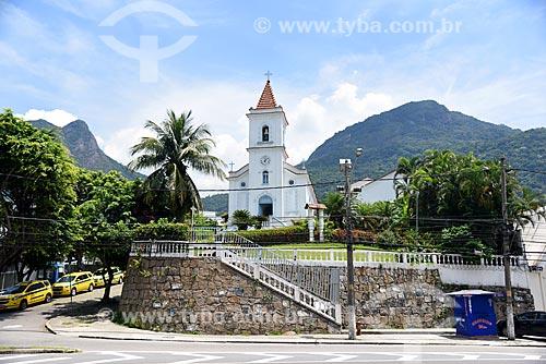 Fachada da Igreja de São Conrado  - Rio de Janeiro - Rio de Janeiro (RJ) - Brasil