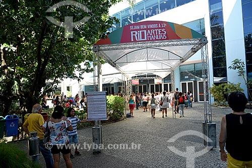Entrada da Feira Rio Artes Manuais no Centro de convenções SulAmérica  - Rio de Janeiro - Rio de Janeiro (RJ) - Brasil
