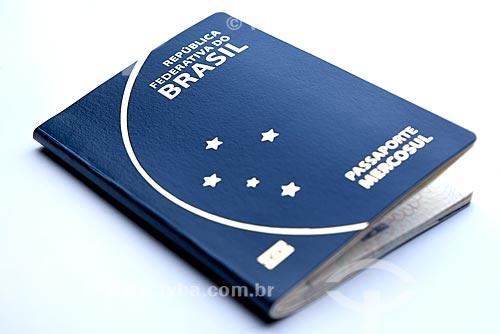 Detalhe de passaporte  - Rio de Janeiro - Rio de Janeiro (RJ) - Brasil