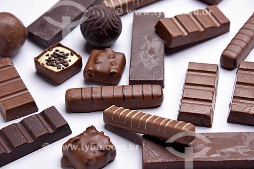 Detalhe de chocolates  - Rio de Janeiro - Rio de Janeiro (RJ) - Brasil