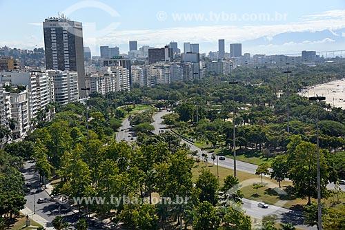 Vista geral da Avenida Praia do Flamengo e da Avenida Infante Dom Henrique com o Aterro do Flamengo  - Rio de Janeiro - Rio de Janeiro (RJ) - Brasil