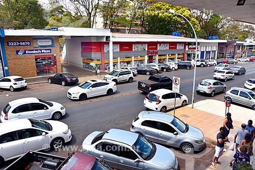 Lojas do Comércio Local Sul - CLS 203 - quadra comercial entre as superquadras residenciais  - Brasília - Distrito Federal (DF) - Brasil