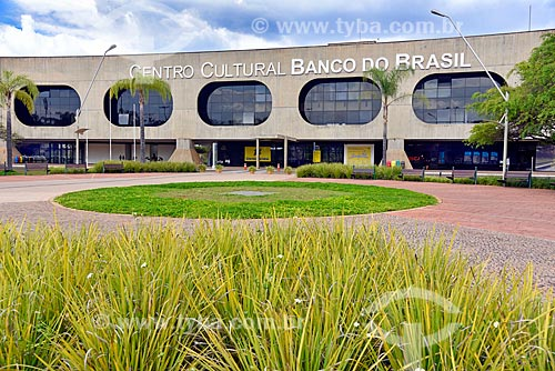 Fachada do Centro Cultural Banco do Brasil de Brasília (2000)  - Brasília - Distrito Federal (DF) - Brasil