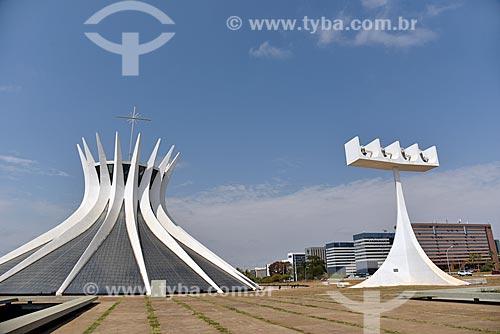 Catedral Metropolitana de Nossa Senhora Aparecida (1970) - também conhecida como Catedral de Brasília  - Brasília - Distrito Federal (DF) - Brasil