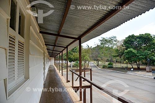 Museu do Catetinho (1956) - primeira residência oficial do presidente Juscelino Kubitschek no novo Distrito Federal na época da construção de Brasília  - Brasília - Distrito Federal (DF) - Brasil