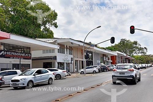 Lojas do Comércio Local Sul - CLS 205/206 - quadra comercial entre as superquadras residenciais  - Brasília - Distrito Federal (DF) - Brasil