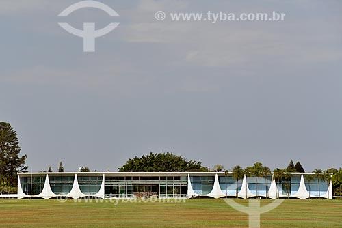 Palácio da Alvorada - residência oficial do Presidente do Brasil  - Brasília - Distrito Federal (DF) - Brasil