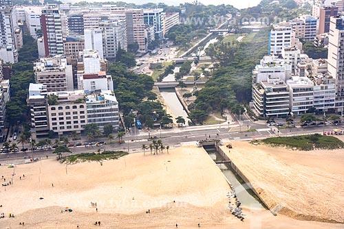 Foto aérea do Jardim de Alah (1938)  - Rio de Janeiro - Rio de Janeiro (RJ) - Brasil