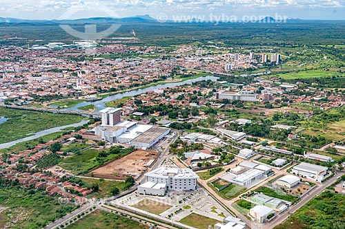 Foto feita com drone do North Shopping Sobral  - Sobral - Ceará (CE) - Brasil