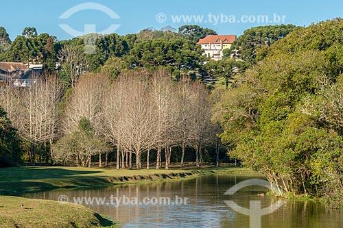 Paisagem no Parque Tingui  - Curitiba - Paraná (PR) - Brasil