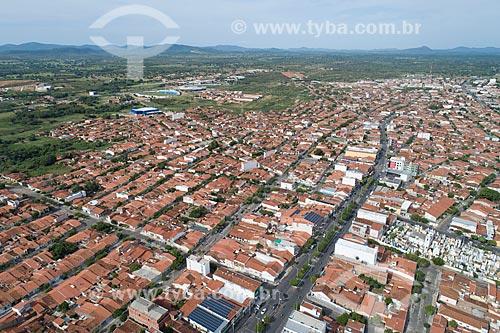 Foto feita com drone da cidade de Cajazeiras  - Cajazeiras - Paraíba (PB) - Brasil