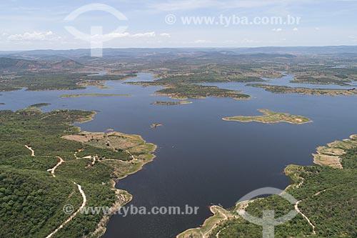 Foto feita com drone da Açúde Engenheiro Ávidos  - Cajazeiras - Paraíba (PB) - Brasil