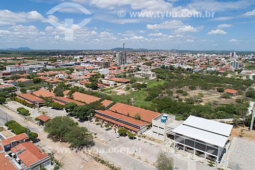 Foto feita com drone do Campus Caicó da Universidade Federal do Rio Grande do Norte  - Caicó - Rio Grande do Norte (RN) - Brasil