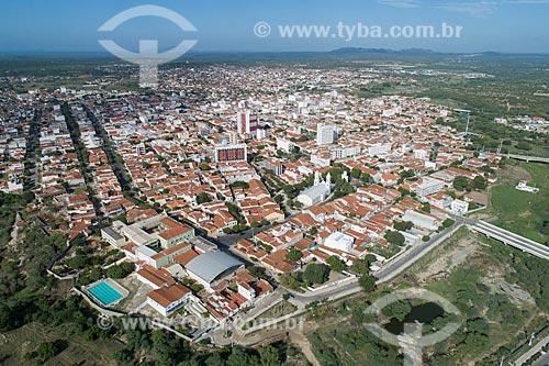 Foto feita com drone da cidade de Caicó  - Caicó - Rio Grande do Norte (RN) - Brasil