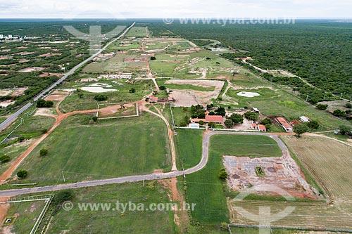Foto feita com drone de fazenda  - Macau - Rio Grande do Norte (RN) - Brasil