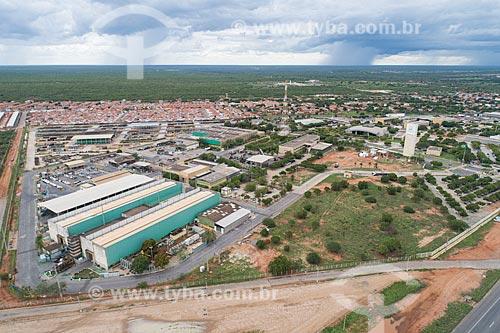 Foto feita com drone da unidade da PETROBRAS em Mossoró  - Mossoró - Rio Grande do Norte (RN) - Brasil