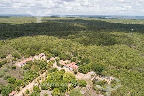 Foto feita com drone da sede da Floresta Nacional do Açu  - Açu - Rio Grande do Norte (RN) - Brasil