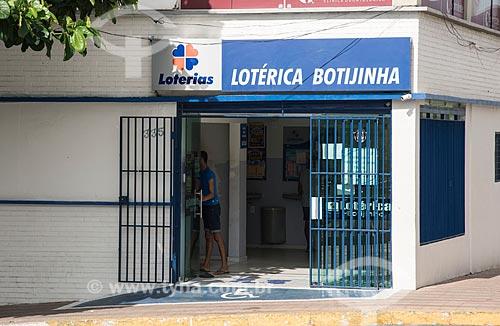 Fachada de casa lotérica  - Cajazeiras - Paraíba (PB) - Brasil