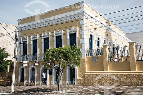 Casarão da Boa Vista (1930) - antiga residência do Coronel Peba - atualmente usado como prédio comercial  - Cajazeiras - Paraíba (PB) - Brasil