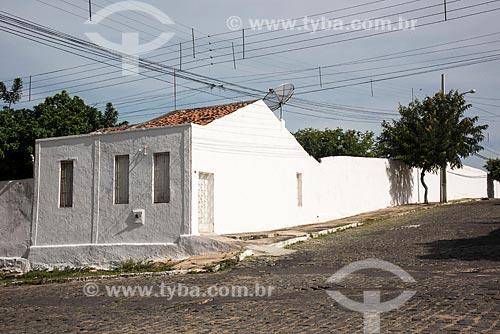 Fachada de casa no centro da cidade de Cajazeiras  - Cajazeiras - Paraíba (PB) - Brasil