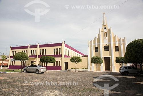 Colégio e Igreja de Nossa Senhora de Lourdes  - Cajazeiras - Paraíba (PB) - Brasil