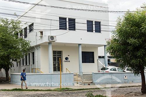 Edifício sede da Companhia de Águas e Esgotos do Rio Grande do Norte (CAERN) - concessionária de serviços de tratamento de água e esgoto - na cidade de Caicó  - Caicó - Rio Grande do Norte (RN) - Brasil