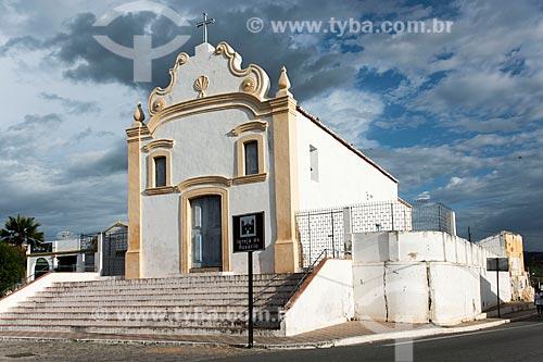 Fachada da Igreja Matriz de Nossa Senhora do Rosário (1738)  - Acari - Rio Grande do Norte (RN) - Brasil