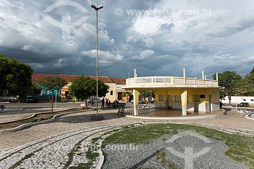 Banheiro público na Praça Cipriano Pereira  - Acari - Rio Grande do Norte (RN) - Brasil