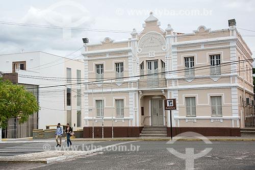 Fachada da Prefeitura da cidade do Currais Novos  - Currais Novos - Rio Grande do Norte (RN) - Brasil