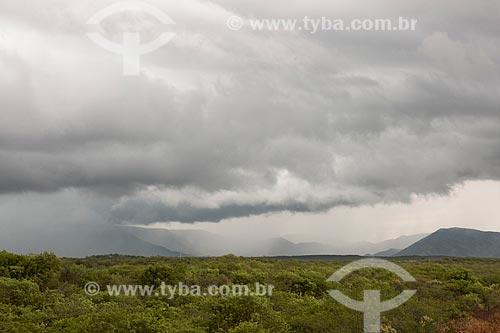 Formação de tempestade no sertão do Rio Grande do Norte  - São Rafael - Rio Grande do Norte (RN) - Brasil
